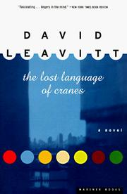 Cover of: The lost language of cranes by David Leavitt
