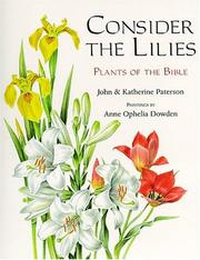 Consider the lilies by Paterson, John