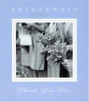 Bridesmaid, Thank You PDF