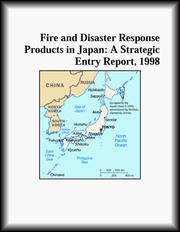 Fire and Disaster Response Products in Japan