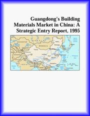 Guangdongs Building Materials Market in China