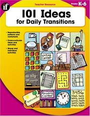 101 Ideas for Daily Transitions (101 Ideas) PDF