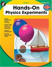 Hands-On Physical Experiements, Grades K-2 (Hands-On Experiments) PDF
