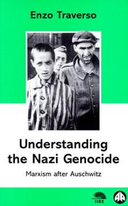 Understanding The Nazi Genocide by Enzo Traverso