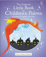 Cover of: The Usborne Little Book of Children's Poems by Stephen Cartwright
