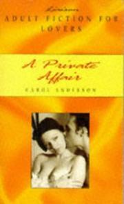 A Private Affair PDF
