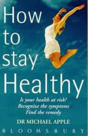 How to Stay Healthy PDF