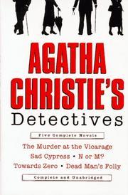 Agatha Christie's detectives PDF