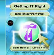 Getting IT right : teacher support pack