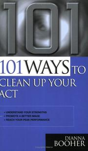 101 Ways to Clean Up Your Act PDF