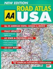 Cover of: Big Road Atlas USA, Canada and Mexico by Automobile Association (Great Britain)