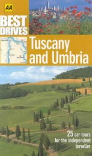 Tuscany and Umbria (AA Best Drives) PDF