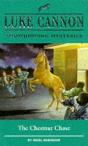 The Chestnut Chase (Luke Cannon Showjumping Mysteries) PDF