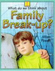 Family Break-up (What Do We Think About?) PDF