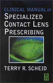Clinical Manual of Specialized Contact Lens Prescribing PDF