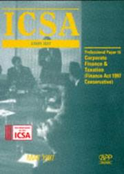 ICSA Study Text by Institute of Chartered Secretaries and Administrators