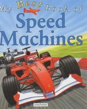 My Best Book of Speed Machines (My Best Book Of...) PDF