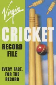Virgin Cricket Record File (Record Files) PDF