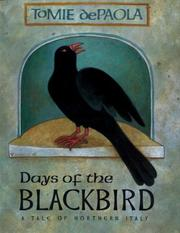 Days of the blackbird by Tomie de Paola