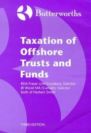 Butterworths Taxation of Offshore Trusts and Funds