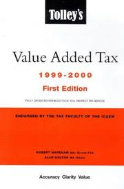 Tolley's value added tax by Robert Wareham