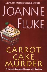 Carrot cake murder by Joanne Fluke