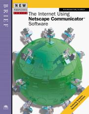 New Perspectives on the Internet Using Netscape Communicator Software -- Brief