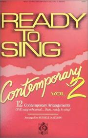 Ready to Sing Contemporary - Volume 2 PDF