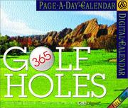 365 Golf Holes Page-A-Day Calendar 2002 PDF