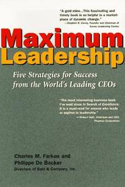 Maximum leadership by Charles M. Farkas