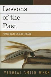 Lessons of the Past PDF