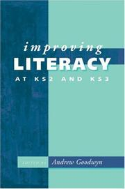 Improving Literacy at KS2 and KS3 (Paul Chapman Publishing Title) PDF