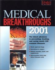 Medical Breakthroughs 2001 (Medical Breakthroughs) PDF