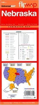 Flip Map, Nebraska PDF