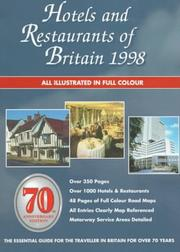 Hotels and Restaurants of Britain 1998 (Serial) PDF