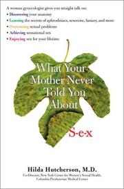 What Your Mother Never Told You About Sex PDF