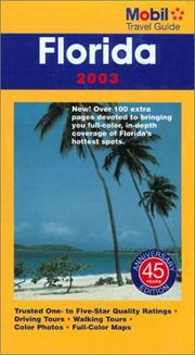 Mobil Travel Guide Florida 2003 (Mobil Travel Guide: Florida, 2003) by Mobil Travel Guide