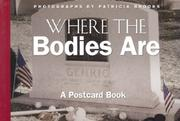 Where the Bodies Are by Patricia Brooks