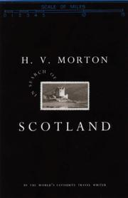 In search of Scotland by H. V. Morton