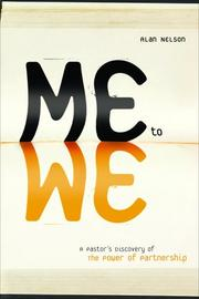 Me to we by Alan E. Nelson