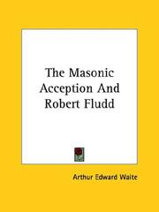The Masonic Acception And Robert Fludd PDF