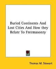 Buried Continents and Lost Cities and How They Relate to Freemasonry PDF