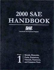 2000 Sae Handbook