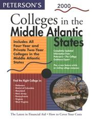 Petersons Colleges in Middle Atlantic States 2000