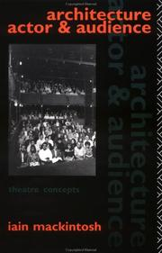 Architecture, actor, and audience PDF