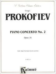 Prokofieff Piano Concerto #2 PDF