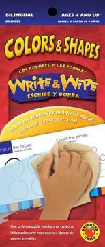 Write & Wipe Colors & Shapes / Los colores y las formas (Write & Wipe) PDF