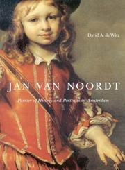 Jan Van Noordt by David A. De Witt