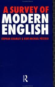 A survey of modern English PDF