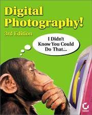 Digital Photography! I Didn't Know You Could Do That.. PDF